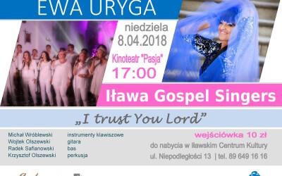 """Foto relacja z koncertu """"Iława Gospel Singers"""" – 8 kwietnia"""