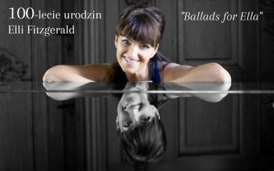 """Koncert jazzowy """"Ballads for Ella"""" – 1 Września"""